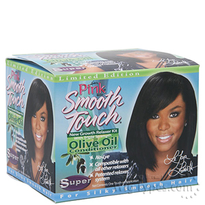 Luster's Pink Smooth Touch New Growth Relaxer Kit - Super