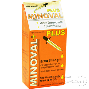 Minoval Plus Hair Regrowth Treatment 2oz