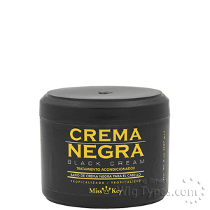 Miss Key Crema Negra Black Cream 8oz