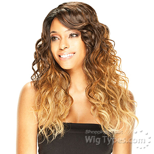 Model Model Deep Invisible Part Wig - MOCHA