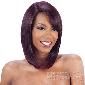 Model Model Synthetic Hair Deep Invisible L Part Wig- JERA
