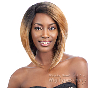 Model Model Synthetic Hair Deep Invisible L Part Wig - JANICA