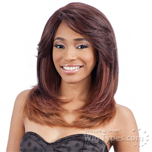 Model Model Synthetic Hair Lace Deep Invisible L Part Lace Front Wig - JOY