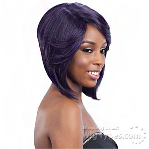 Model Model Synthetic Hair Lace Deep Invisible L Part Lace Front Wig - DENVER