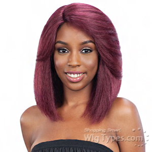 Model Model Synthetic Hair Lace Deep Invisible L Part Lace Front Wig - DREAM