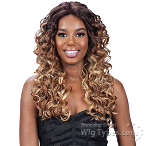 Model Model Synthetic Hair Premium Seven Star Lace Front Wig - LAVINIA