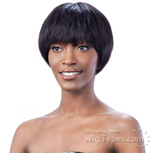 Model Model Bravo 100% Human Hair Wig - MAPLE