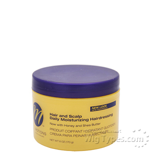 Motions Hair and Scalp Daily Moisturizing Hairdressing 6oz