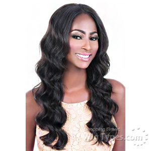 Motown Tress 100% Brazilian Virgin Remi Human Hair Swiss Lace Wig - HBR LS LEA