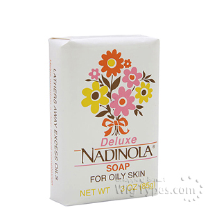 Nadinola Deluxe Soap For Oily Skin 3oz