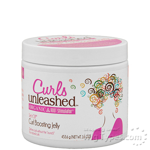 Organic Root Stimulator Curls Unleashed Curl Boosting Jelly 16oz