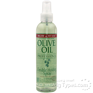 Organic Root Stimulator Olive Oil Flexible Holding Spray 8oz