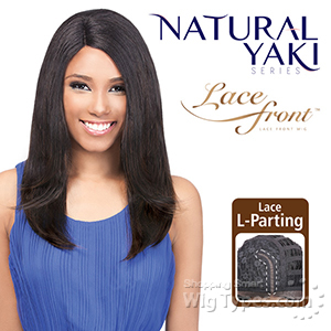 Outre Synthetic L-Part Lace Front Wig - Natural YAKI 18 (futura)
