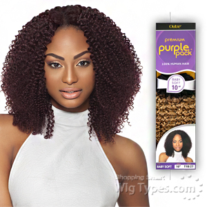 Outre 100% Human Hair Weave - PURPLE PACK BABY SOFT 14
