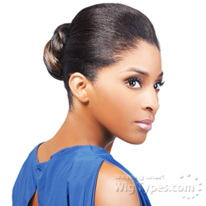 Outre Synthetic Timeless Bun - BLUEBELL (Dome)