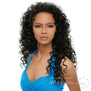 Outre Synthetic Half Wig Quick Weave - AMBER