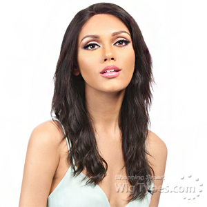 It's A Wig Salon Remi 100% Brazilian Virgin Human Hair Swiss Lace Front Wig - CHINELO