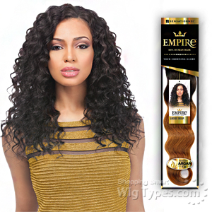 Sensationnel 100% Human Hair Weaving - EMPIRE LOOSE DEEP 12