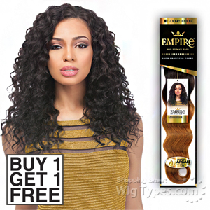 Sensationnel 100% Human Hair Weaving - EMPIRE LOOSE DEEP (Buy 1 Get 1 FREE)