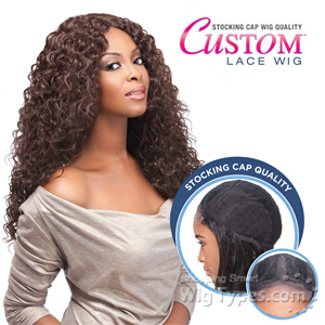 Sensationnel Stocking Cap Quality Custom Lace Wig - ITALIAN CURL (hand-tied Part W/ Multiple Parting Option)