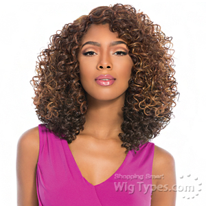 Sensationnel Synthetic Hair Empress Natural Curved Part Lace Front Wig - FENDI (futura)