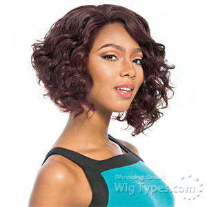 Sensationnel Synthetic Hair Empress Natural Curved Part Lace Front Wig - THELMA  (futura)