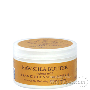 Shea Moisture Raw Shea Butter Infused With Frankincense & Myrrh 4oz