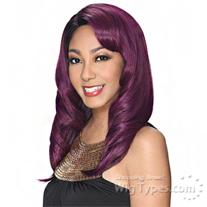 Zury Sis Hollywood Retro Synthetic Hair Lace Wig - RET LACE H ALIYON