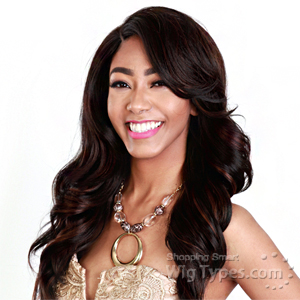 Zury Sis Synthetic Hair Swiss Lace Pre Tweezed Part Wig - SW LACE H AURA