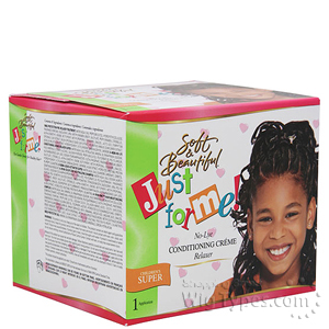 Just For Me No-Lye Conditioning Relaxer Kit (Coarse)
