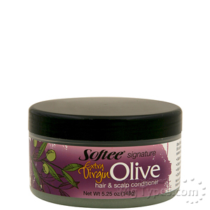 Softee Extra Virgin Olive Oil Hair & Scalp Conditioner 5.25 oz