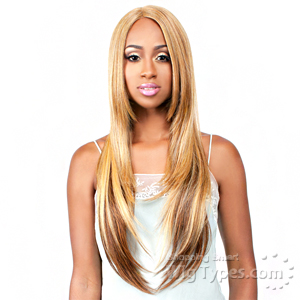 The Wig Brazilian Human Hair Blend Lace Front Wig - LH BORA