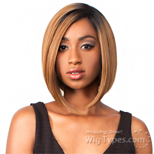 The Wig Brazilian Human Hair Blend Lace Front Wig - LH NICKY