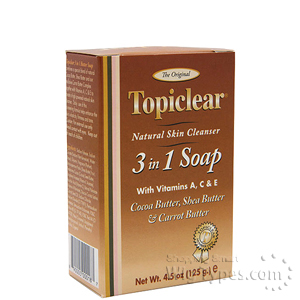 Topiclear 3 IN 1 Soap 4.5oz