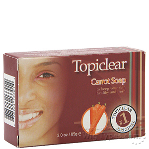 Topiclear Carrot Soap 3oz
