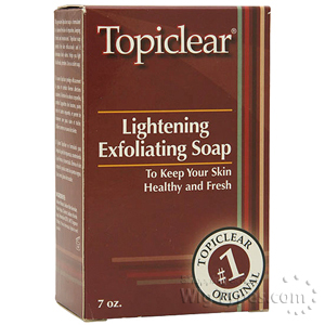 Topiclear Lightening Exfoliating Soap 7oz
