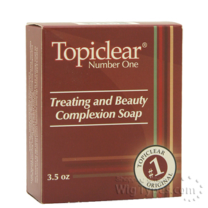 Topiclear Treating and Beauty Complexion Soap 3.5oz