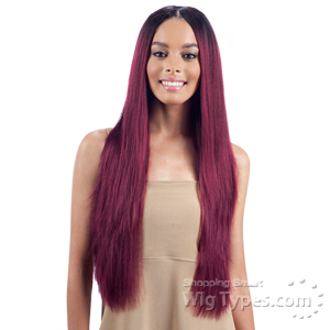Model Model Nude Leaf 100% Unprocessed Brazilian Virgin Remy Hair Weave - STRAIGHT 7PCS (18/18/20/20/22/22 + Closure)