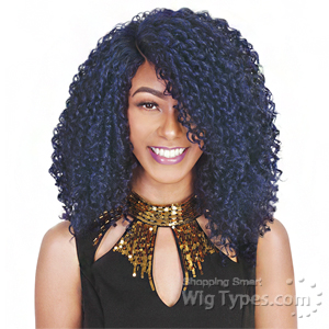 Zury Sis Synthetic Hair Swiss Lace Pre Tweezed Part Wig - SW H NANA