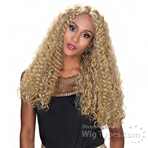 Zury Sis Synthetic Hair Swiss Lace Pre Tweezed Part Wig - SW LACE H QUEEN