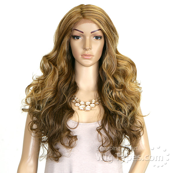 Motown Tress Extra Deep Lace Part Synthetic Hair Wig Lxp Edie