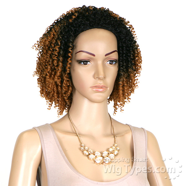 Outre Synthetic Half Wig Quick Weave Big Beautiful Hair 4c Coily
